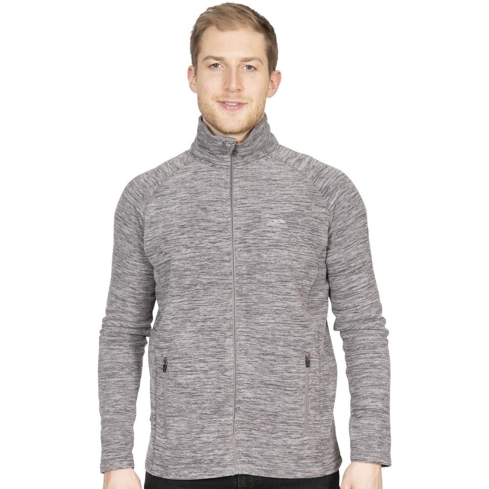 Trespass Mens Veryan Full Zip Marl Fleece Jacket Xs - Chest 33-35 (84-89cm)