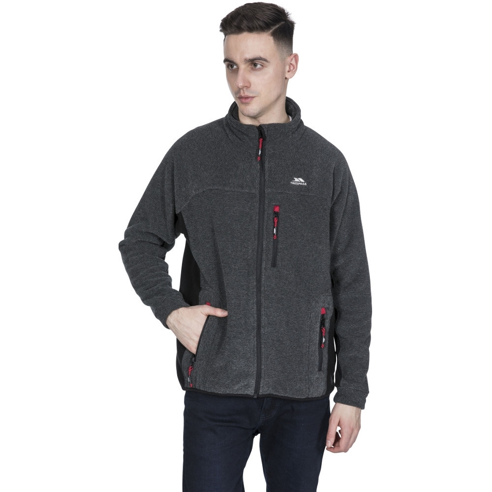 Trespass Mens Jynx Full Zip Warm Fleece Jacket Xs - Chest 33-35 (84-89cm)