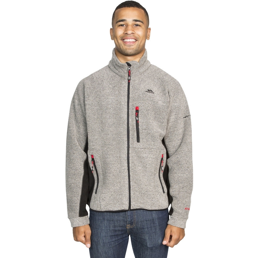 Trespass Mens Jynx Full Zip Warm Fleece Jacket S - Chest 35-37 (89-94cm)
