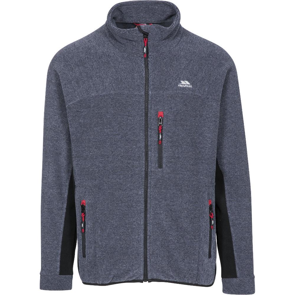Trespass Mens Jynx Full Zip Warm Fleece Jacket Xxl - Chest 46-48 (117-122cm)