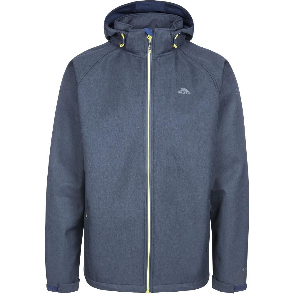 Trespass Mens Maverick Waterproof Hooded Softshell Jacket L - Chest 41-43' (104-109cm)