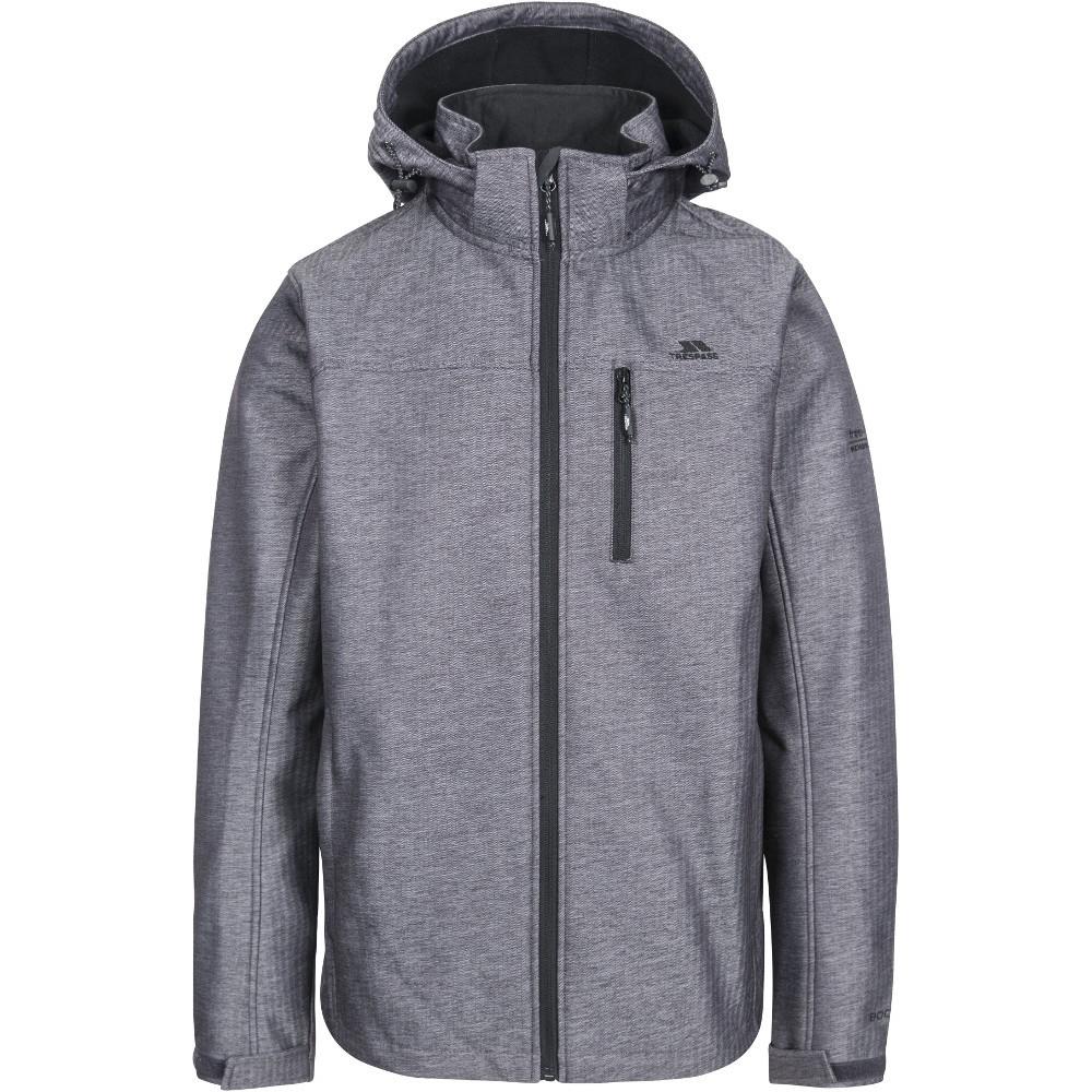 Trespass Mens Carter Breathable Waterproof Softshell Jacket Xxl - Chest 46-48 (117-122cm)