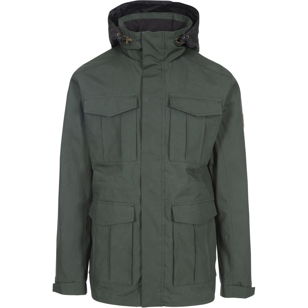 Trespass Mens Rainthan Breathable Waterproof Jacket Xl - Chest 44-46 (111.5-117cm)