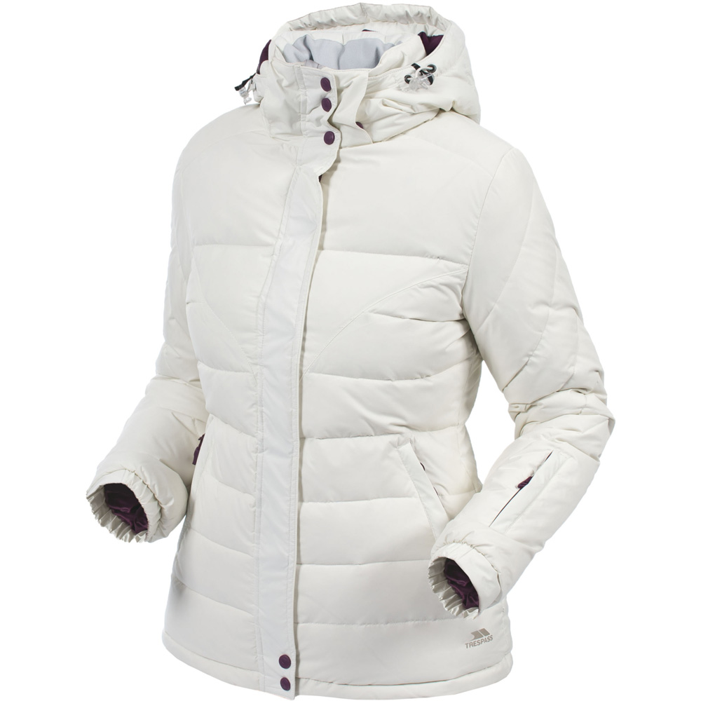 Trespass Ladies Cintia Natural Down Insulated Padded Jacket
