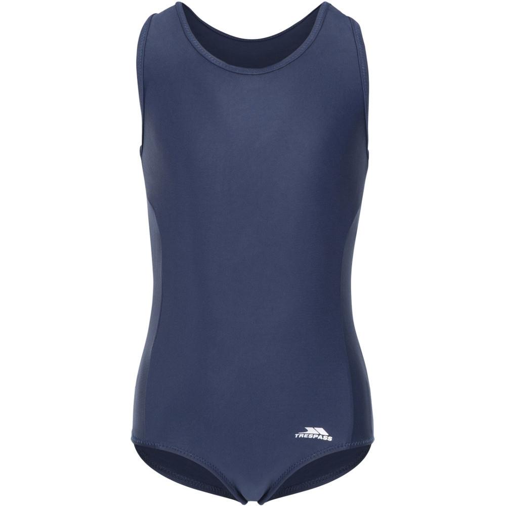 Trespass Girls Wakely Swimwear One Piece Swimsuit 5-6 - Chest 24 (chest 61cm)