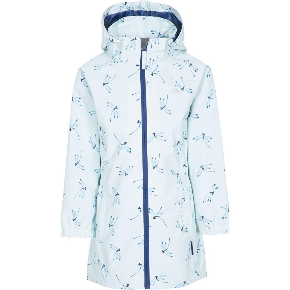 Trespass Girls Frejja Waterproof Windproof Coat Jacket 5-6 - Chest 24 (chest 61cm)