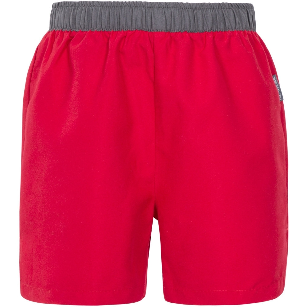 Trespass Boys Sanded Elasticated Swimming Shorts 7-8 - Waist 22.5' (Waist 58.5cm)