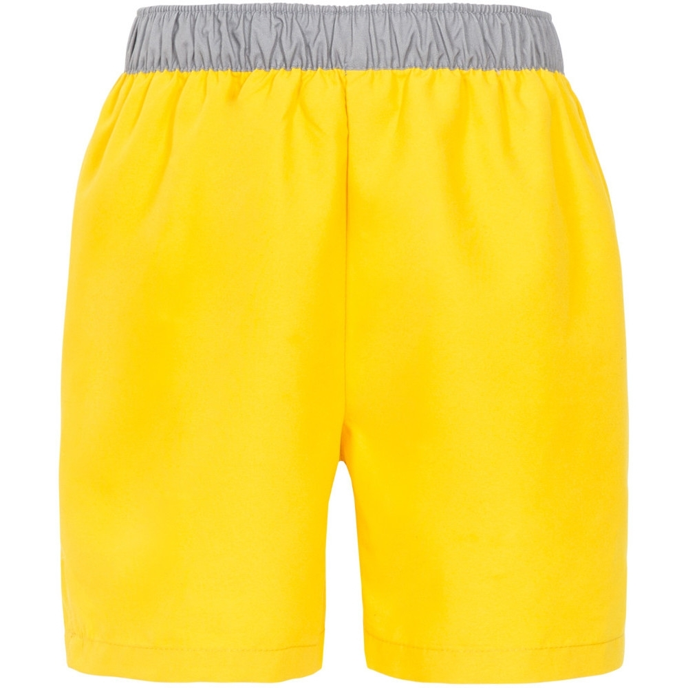 Trespass Boys Sanded Elasticated Swimming Shorts 5-6 -waist 22 (waist 56cm)