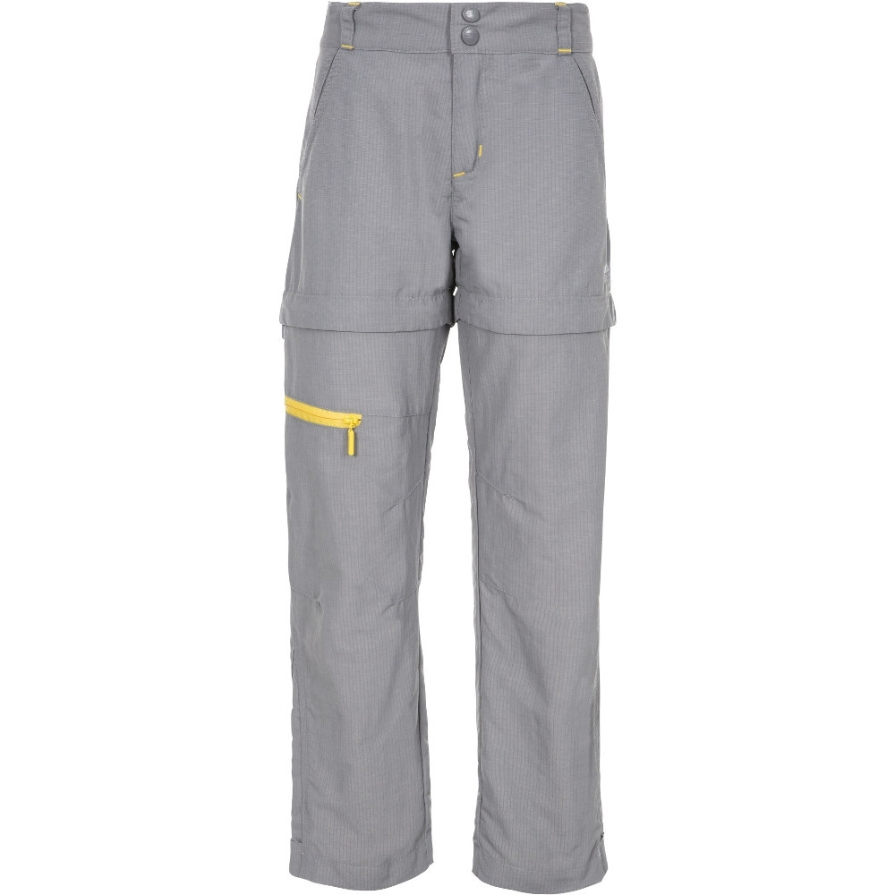 Trespass Boys Defender Zip Off Adventure Walking Trousers 11-12 - Waist 26 (waist 66cm)