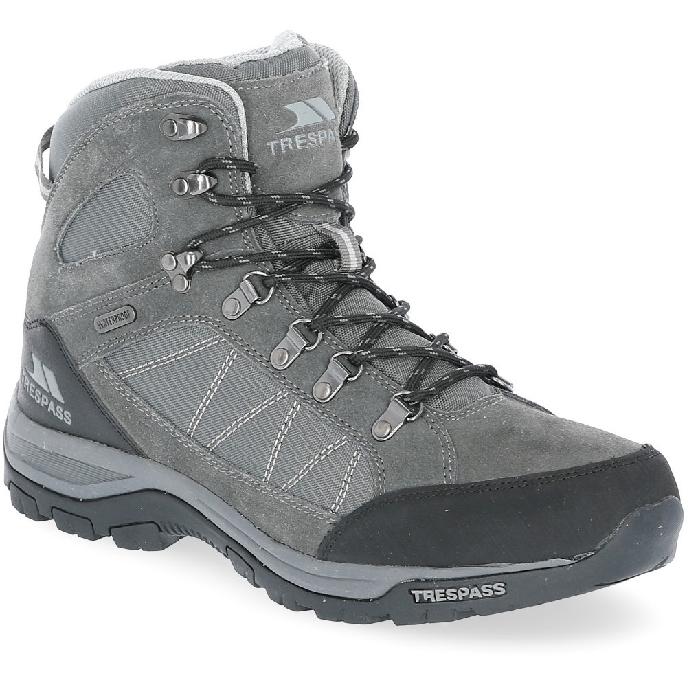 Trespass Mens Chavez Waterproof Mid Cut Walking Boots 6�UK Size (EU 40)