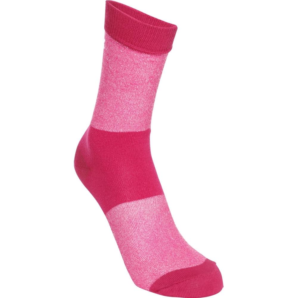 Trespass Womens Cool Max Lightweight Walking Socks Uk Size 3-6 (eu 36-39)