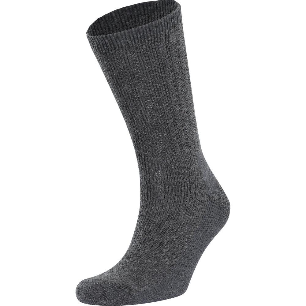 Trespass Mens Stroller Ribbed Outdoor Walking Socks Uk Size 4-7 (eu 37-41)