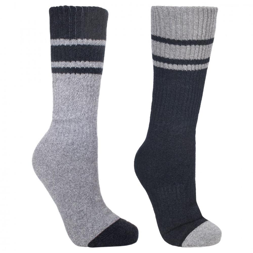 Trespass Mens Hitched Anti Blister Walking Socks Uk Size 7-11