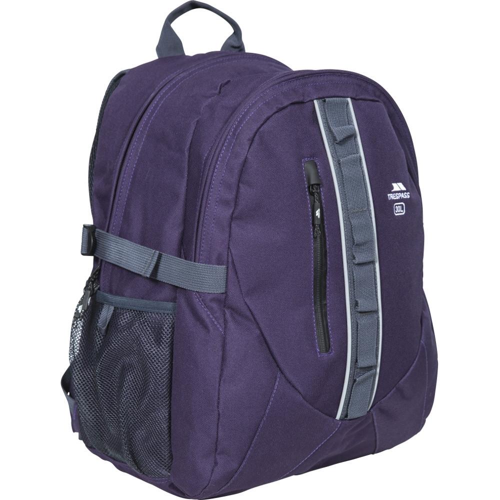 Trespass Mens Deptron Day Laptop Bag 30 Litres Backpack 20 - 29l
