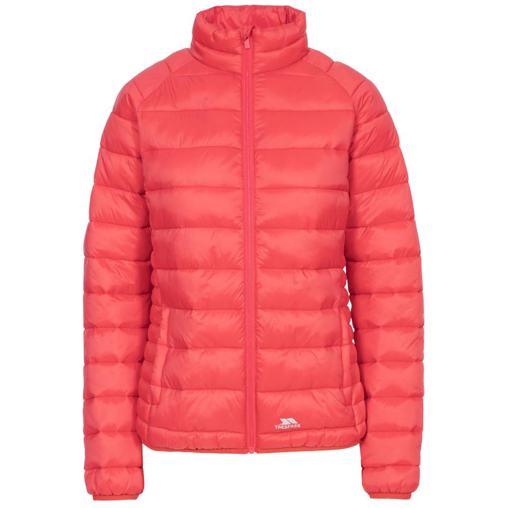 Trespass Womens Marlene Padded Down Touch Jacket Coat 14/l - Bust 38 (96.5cm)