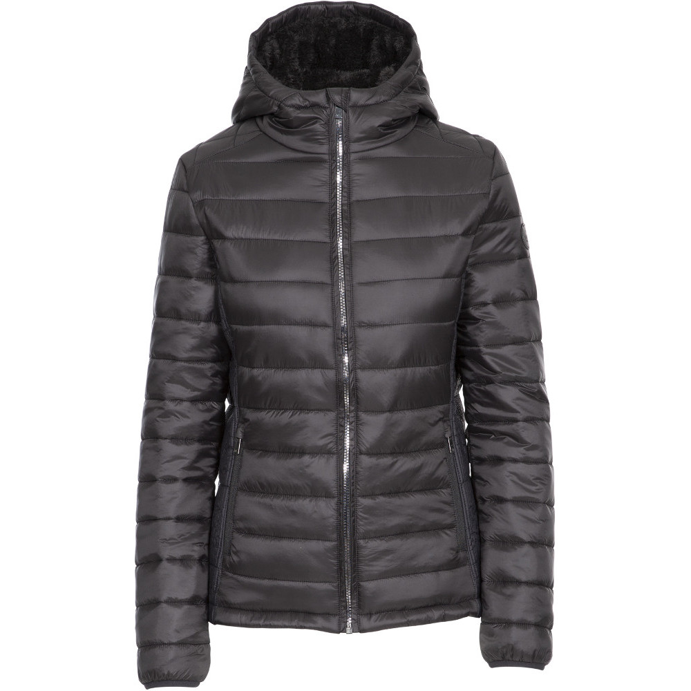Trespass Womens Valerie Padded Hooded Warm Jacket Coat 14/l - Bust 38 (96.5cm)