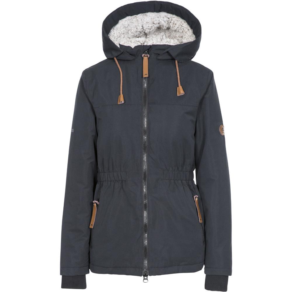 Trespass Womens Cassini Tp50 Padded Waterproof Jacket Coat 10/s - Bust 34 (86cm)