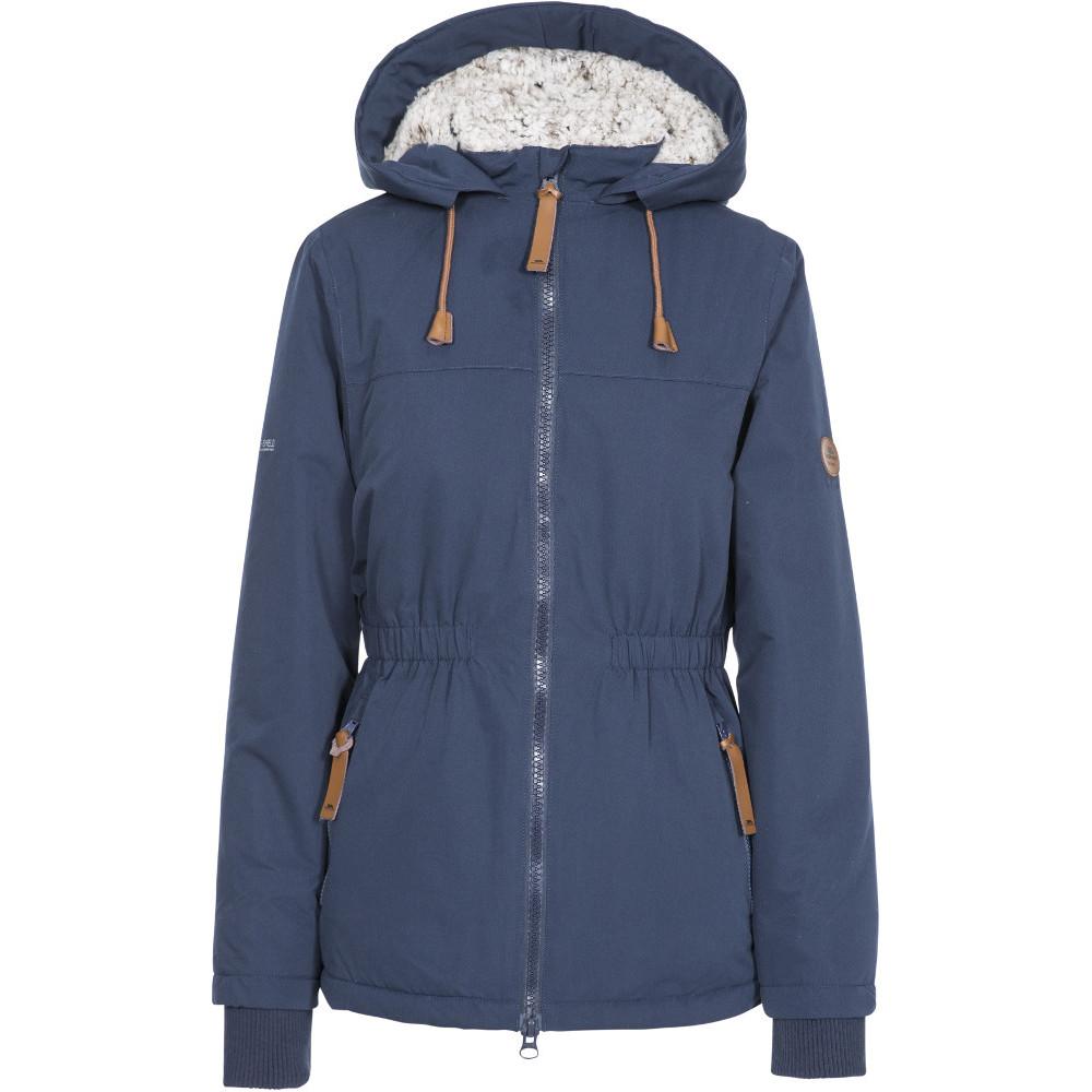 Trespass Womens Cassini Tp50 Padded Waterproof Jacket Coat 18/xxl - Bust 42 (106.5cm)