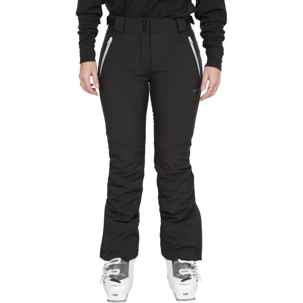 Trespass Womens Lois Tp75 Breathable Softshell Ski Trousers Xxs- Uk 6- Waist 26  (66cm)
