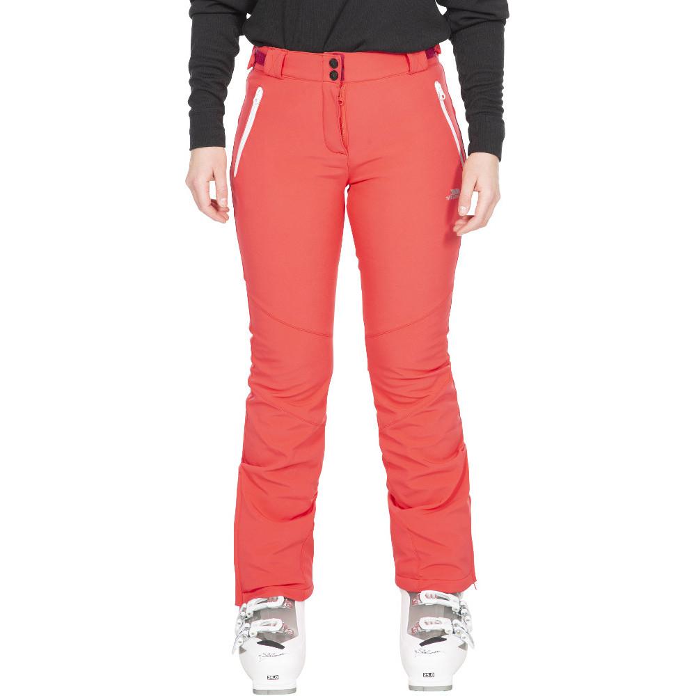 Trespass Womens Lois Tp75 Breathable Softshell Ski Trousers M- Uk 12- Waist 30  (76cm)