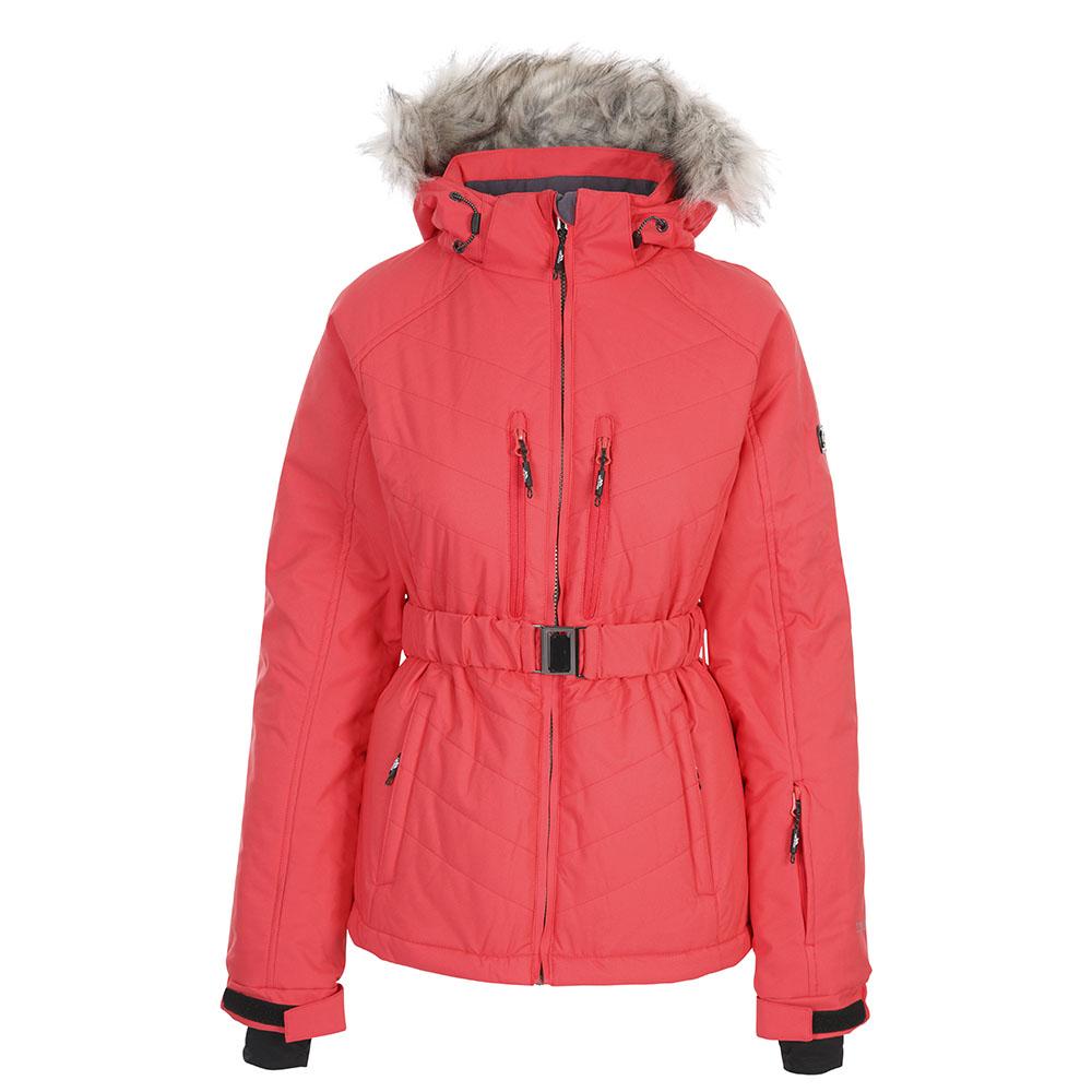 Trespass Womens Camila Tp75 Padded Hooded Ski Coat Jacket L- Uk 14- Bust 38  (96.5cm)