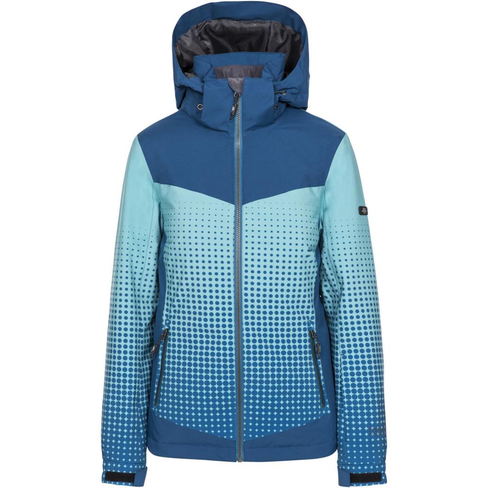 Trespass Womens Zenya Tp75 Waterproof Breathable Ski Coat L- Uk 14- Bust 38  (96.5cm)