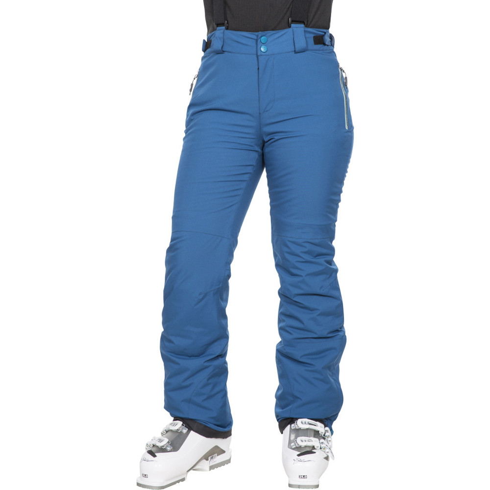 Trespass Womens Roseanne Tp75 Lightly Padded Ski Trousers Xs- Uk 8- Uk 8- Waist 27  (68.5cm)