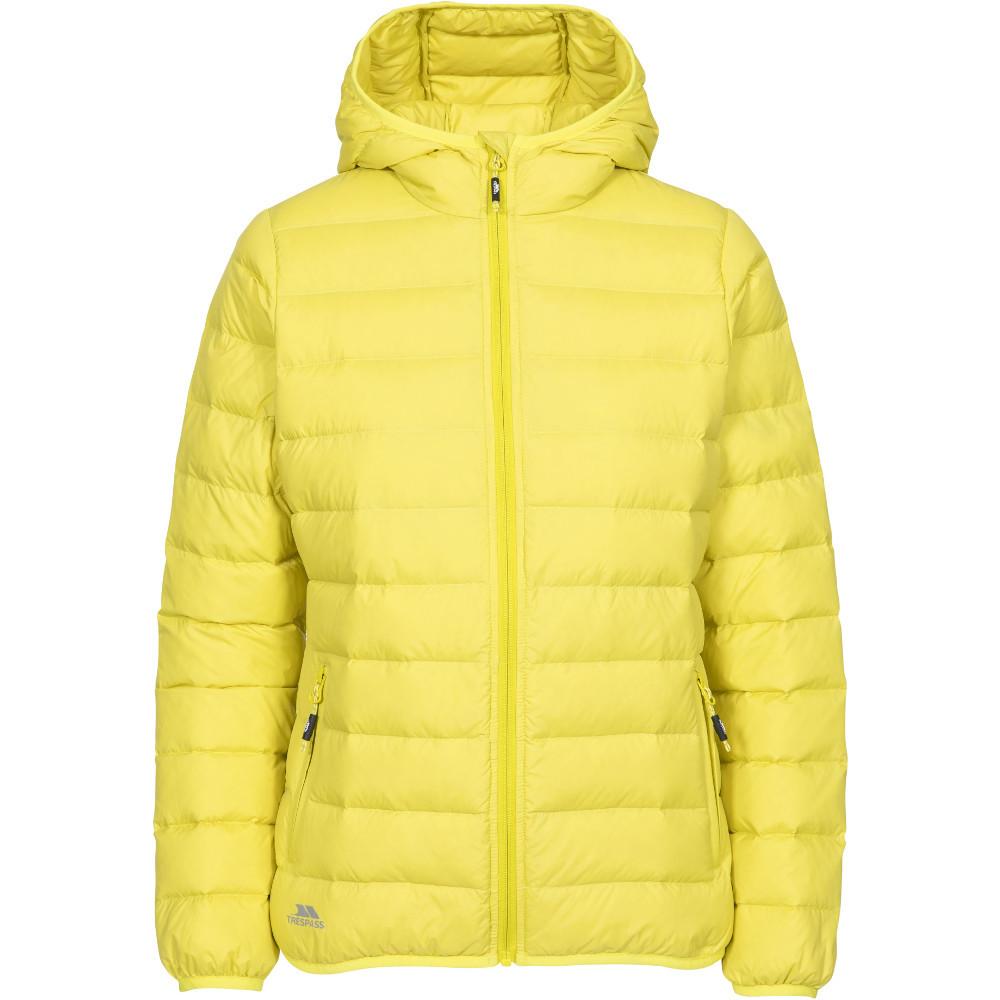 Trespass Womens Amma Ultra Lightweight Hooded Down Coat Xxs- Uk 6- Bust 31  (78cm)