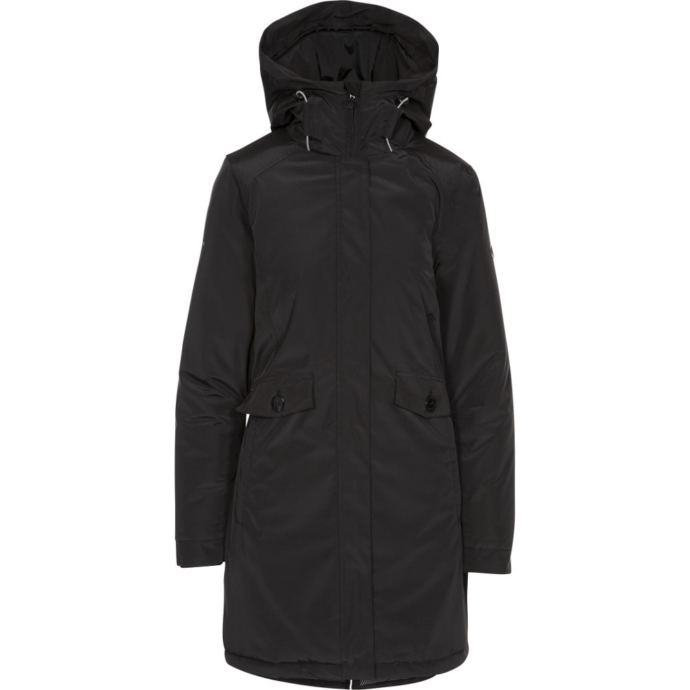 Trespass Womens Carolina Waterproof Breathable Coat L- Uk 14- Bust 38  (96.5cm)