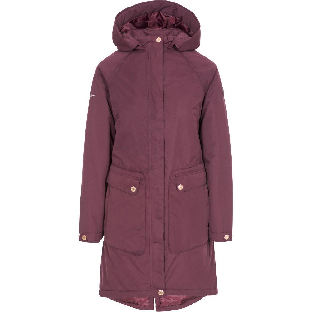 Trespass Womens Tamara Tp50 Waterproof Insulated Coat S- Uk 10- Bust 34  (86cm)