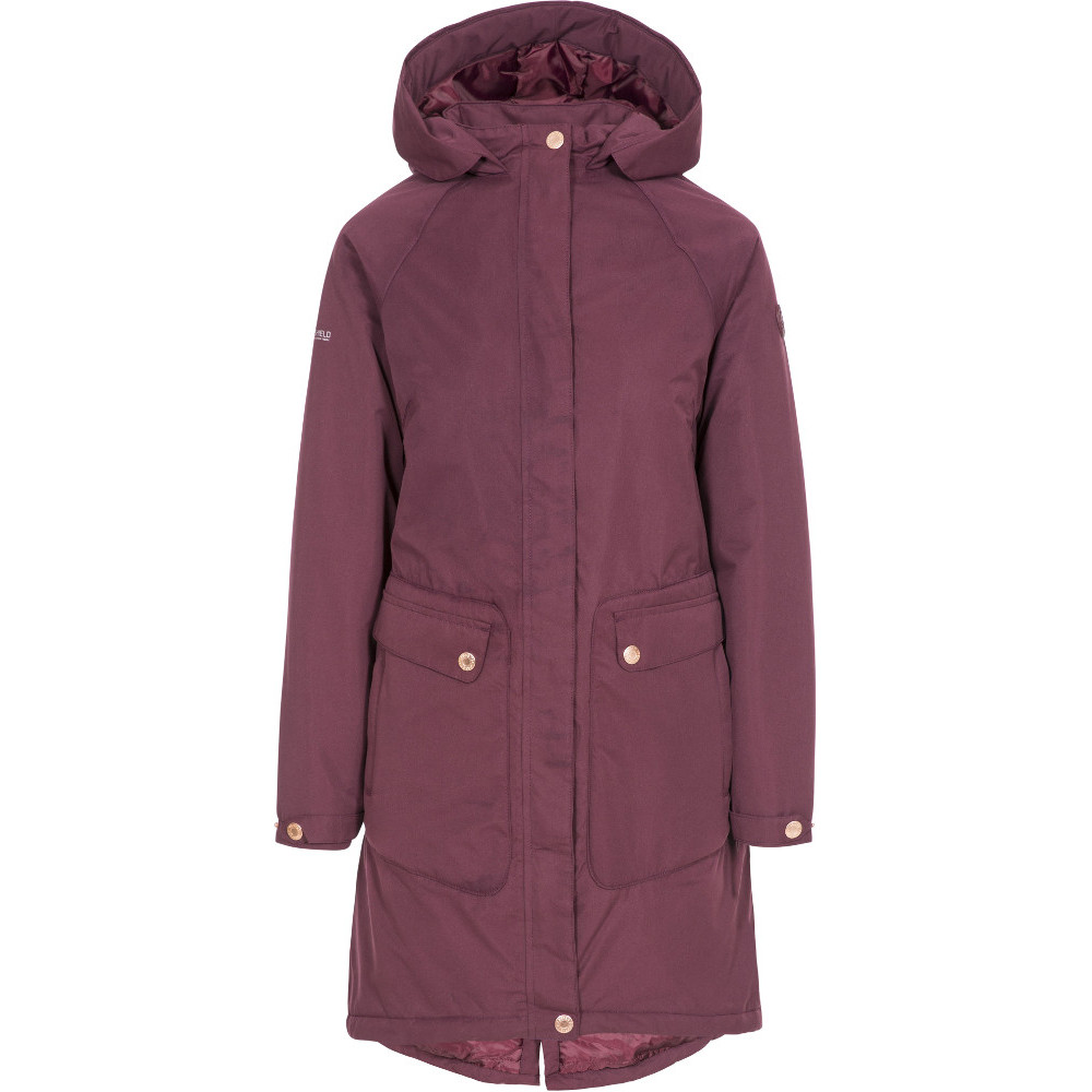 Trespass Womens Tamara Tp50 Waterproof Insulated Coat M- Uk 12- Bust 36  (91.4cm)