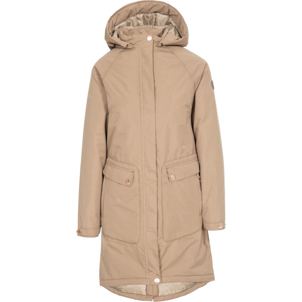 Trespass Womens Tamara Tp50 Waterproof Insulated Coat Xl- Uk 16- Bust 40  (101.5cm)