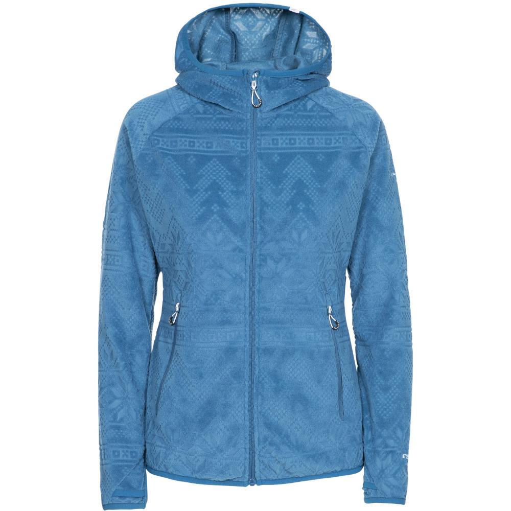 Trespass Womens Snowbelle At200 Full Zip Fleece Jacket Xxs- Uk 6- Bust 31  (78cm)