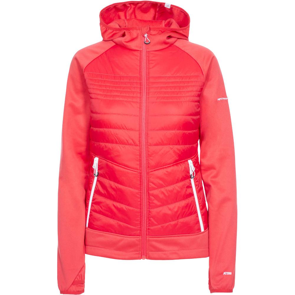 Trespass Womens Finito At200 Full Zip Hooded Fleece Jacket Xs- Uk 8- Bust 32  (81cm)