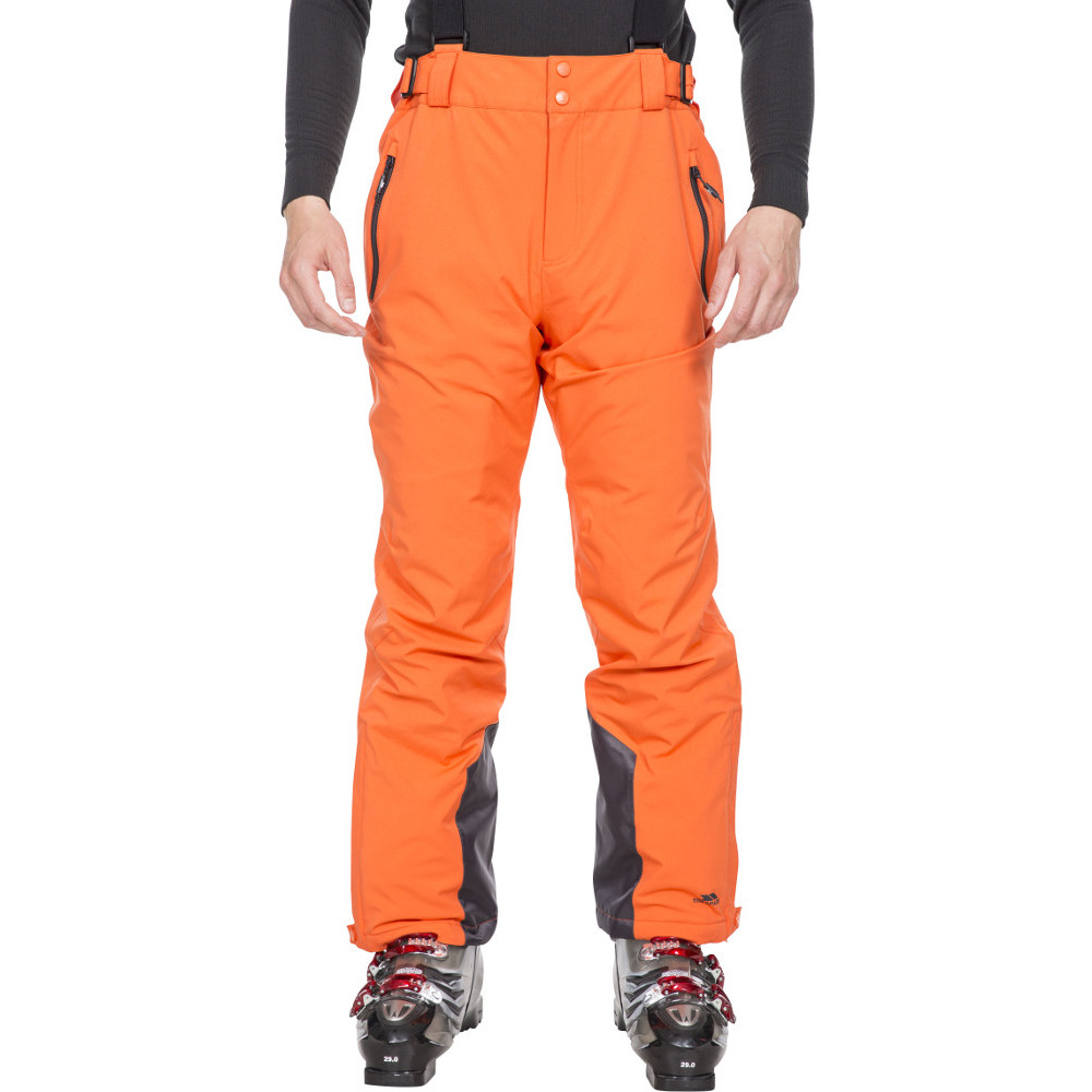 Trespass Mens Trevor Tp75 Lightly Padded Ski Trousers L- Waist 36-38  (91.5-96.5cm)