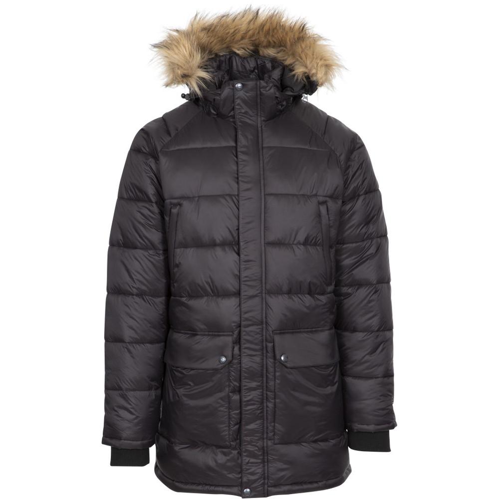 Trespass Mens Waldridgeton Padded Hooded Parka Coat Jacket Xxs- Chest 31-33  (79-84cm)