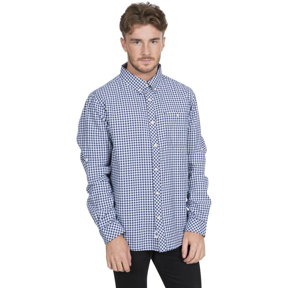 Trespass Mens Yafforth Casual Woven Long Sleeve Shirt S- Chest 35-37  (89-94cm)