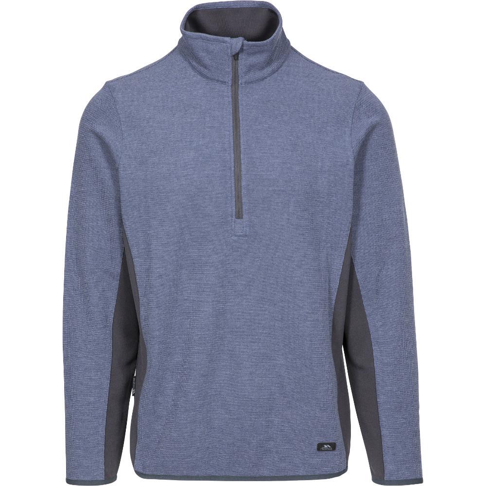 Trespass Mens Wotterham Knitted Half Zip Fleece Jacket S- Chest 35-37  (89-94cm)