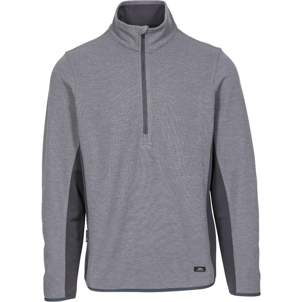 Trespass Mens Wotterham Knitted Half Zip Fleece Jacket Xl- Chest 44-46  (111.5-117cm)