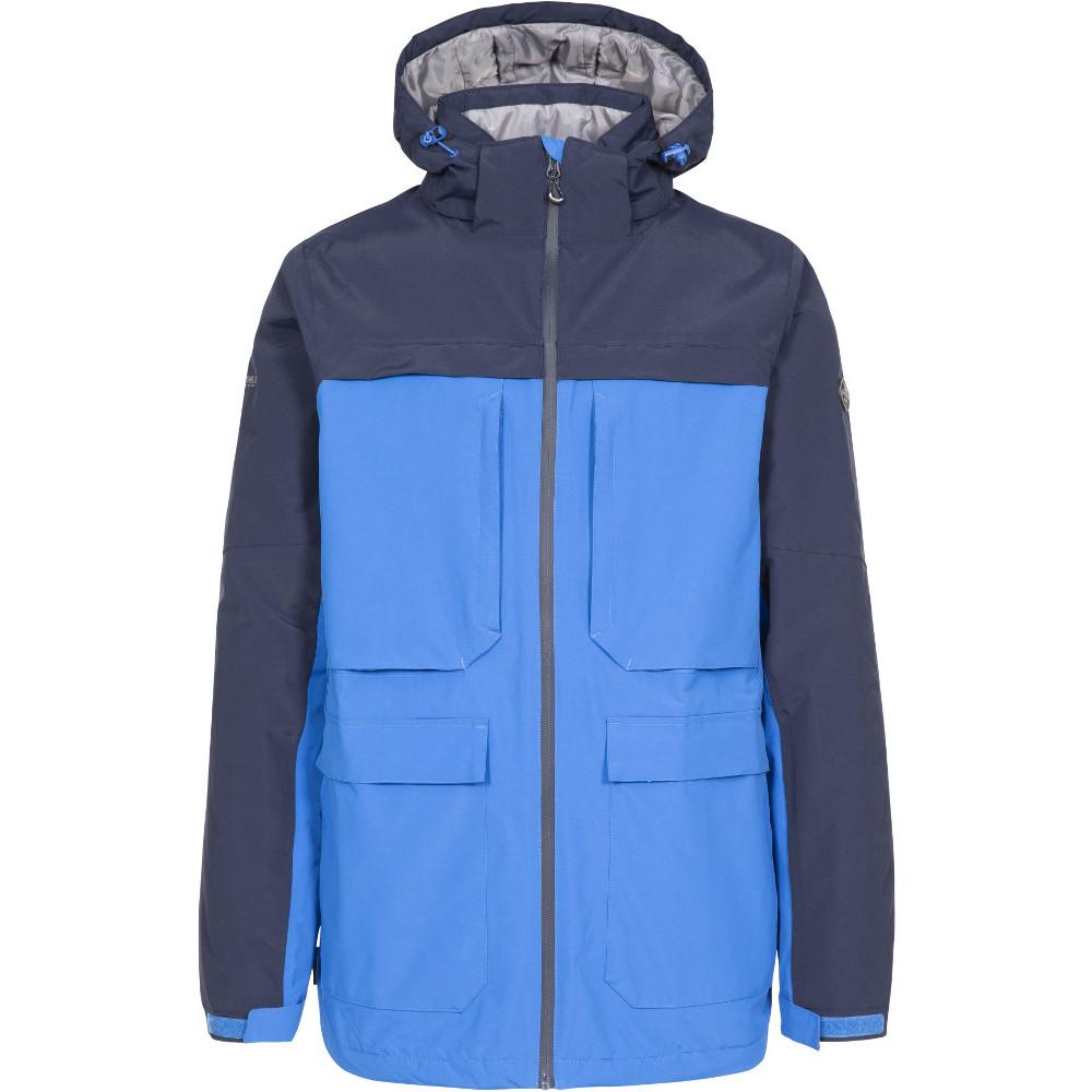 Trespass Mens Heathrack Tp50 Waterproof Insulated Jacket Xxl- Chest 46-48  (117-122cm)