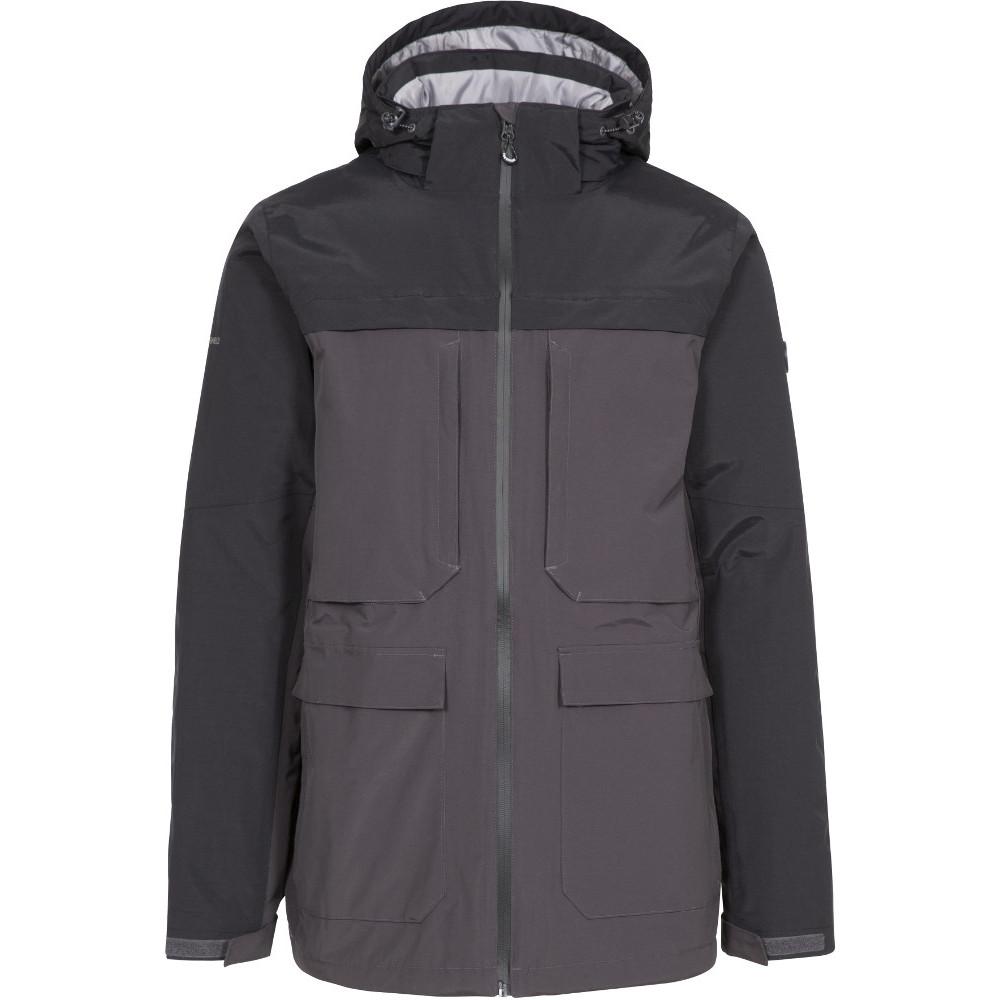 Trespass Mens Heathrack Tp50 Waterproof Insulated Jacket Xs- Chest 33-35  (84-89cm)