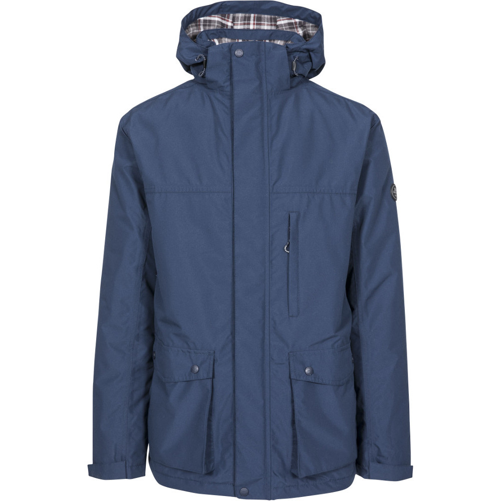 Trespass Mens Vauxelly Tp50 Waterproof Insulated Jacket L- Chest 41-43  (104-109cm)