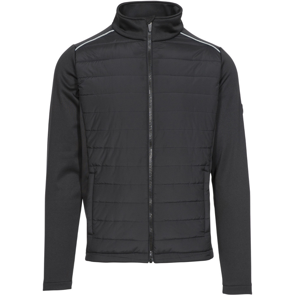 Trespass Mens Reid Padded Full Zip Active Fleece Jacket Xxl- Chest 46-48  (117-122cm)