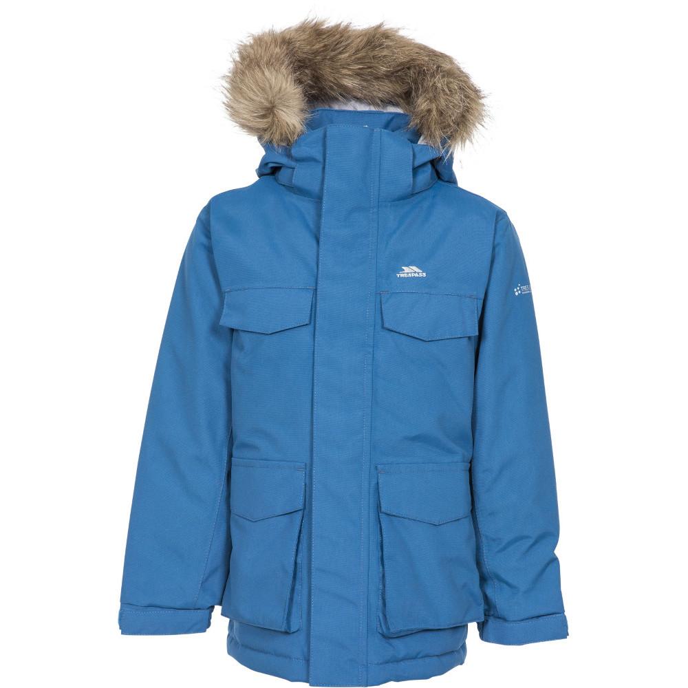 Trespass Girls Starrie Tp75 Padded Waterproof Parka Jacket 7 Years - Chest 26  (66cm)