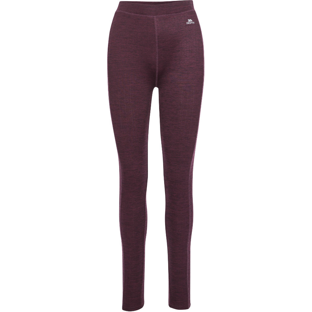 Trespass Womens Dainton Wicking Quick Dry Baselayer Trousers Xs- Uk 8- Uk 8- Waist 27  (68.5cm)