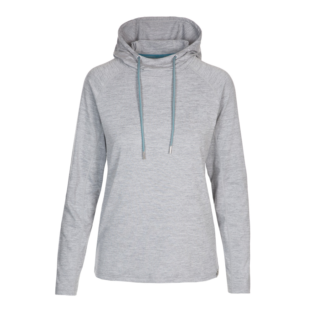 Trespass Womens Hattie Active Sports Hoodie Sweater 10/s - Bust 34 (86cm)
