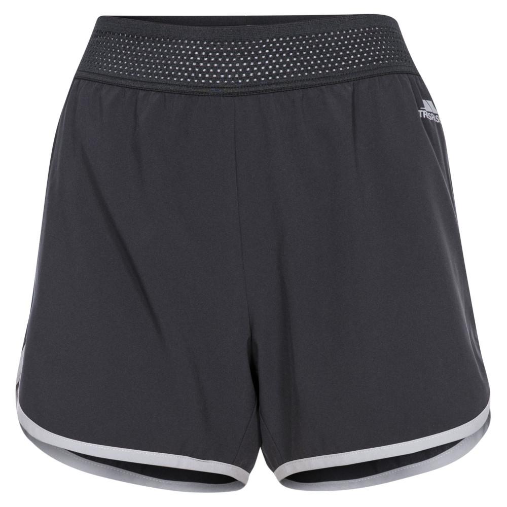 Trespass Womens Sadie Active Lightweight Elasticated Shorts 6/xxs - Waist 23 (61cm)