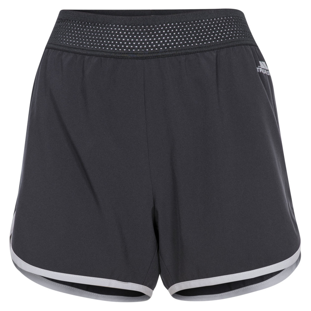 Trespass Womens Sadie Active Lightweight Elasticated Shorts 14/l - Waist 32 (81cm)
