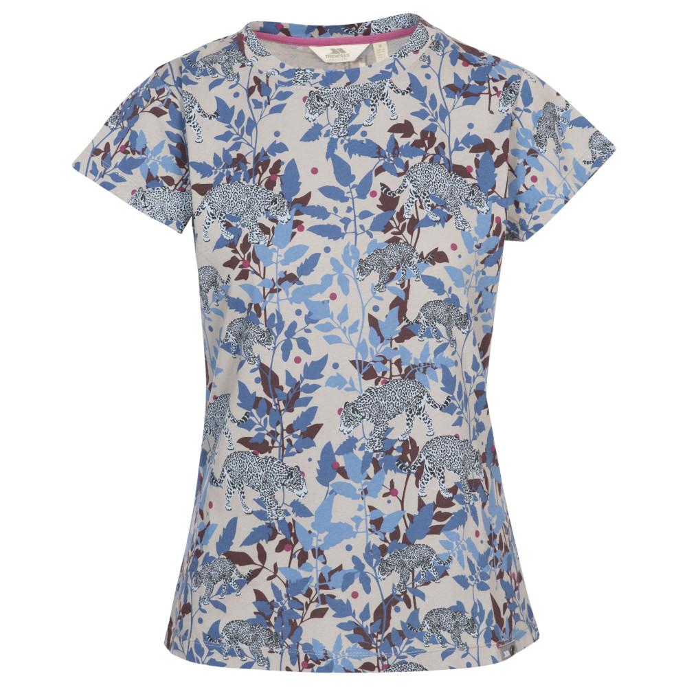 Trespass Womens Phillipa Round Neck Short Sleeved T Shirt 6/xxs - Bust 30 (76cm)