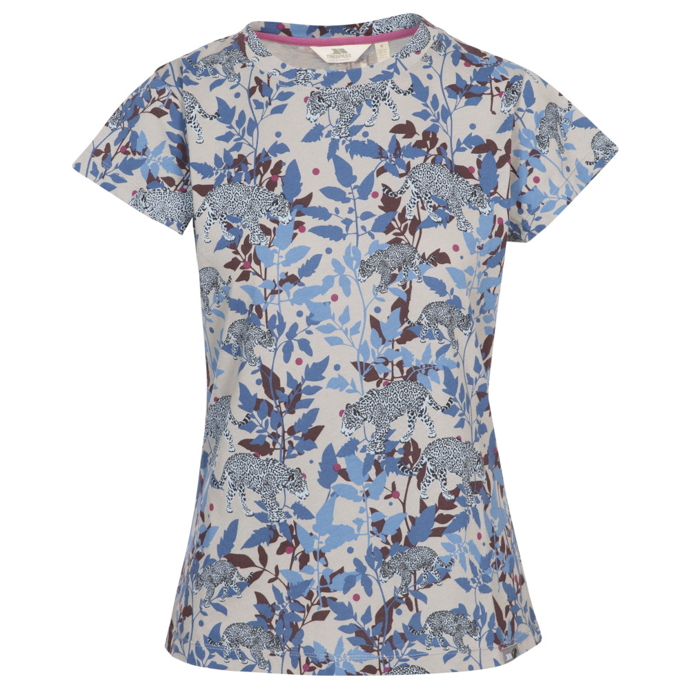 Trespass Womens Phillipa Round Neck Short Sleeved T Shirt 12/m - Bust 36 (91.4cm)
